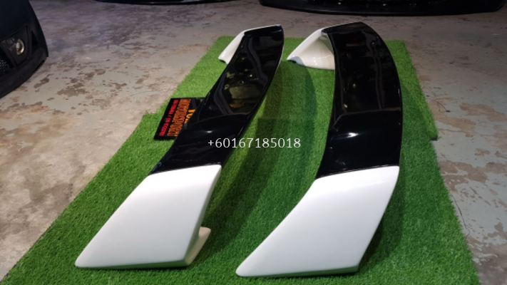 2006 2007 2008 2009 2010 2011 honda civic fd fd1 fd2 fd4 fd2r type r rear spoiler type r style for fd add on upgrade performance look frp material brand new set