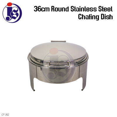 36cm Round Stainless Steel Chafing Dish