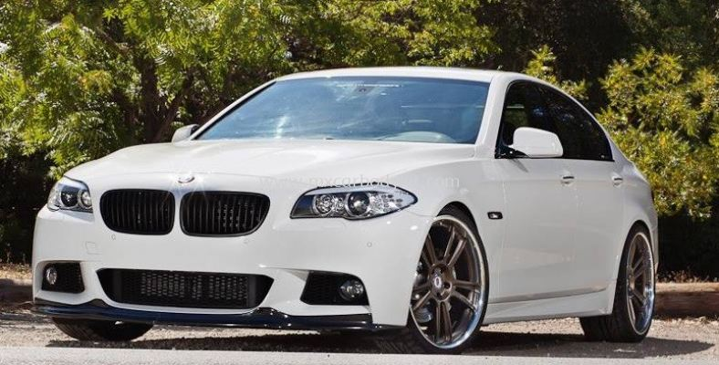 BMW F10 M-SPORT ARKYM STYLE FRONT LIP CARBON