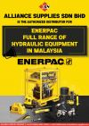 Authorized Distributor for ENERPAC Full Range Of Hydraulic Tools & Equipment in MALAYSIA