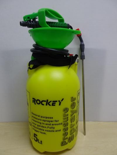 ROCKEY 5.0 LITRE PLASTIC PRESSURE SPRAYER