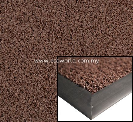 Heavy Duty Coil Mat (Unbacked)-Brown