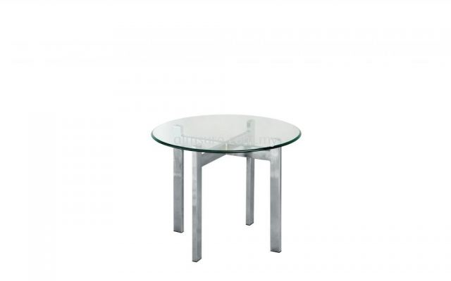 Tempered glass round side coffee table AIM7700-7T