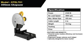 Stanley 355mm Chopsaw STEL701