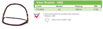 A2 Visor Bracket - ABS Face Shield Equipment HEAD PROTECTION