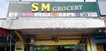 SM GROCERY (Rawang) Front Light  Box Up Letterings