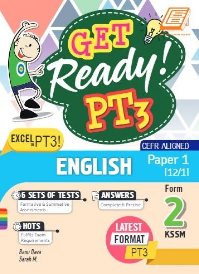Get Ready PT3 English Paper 1 Form 2