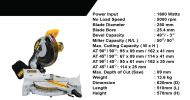 Dewalt Mitre Saw - DW713 DEWALT Power Tools