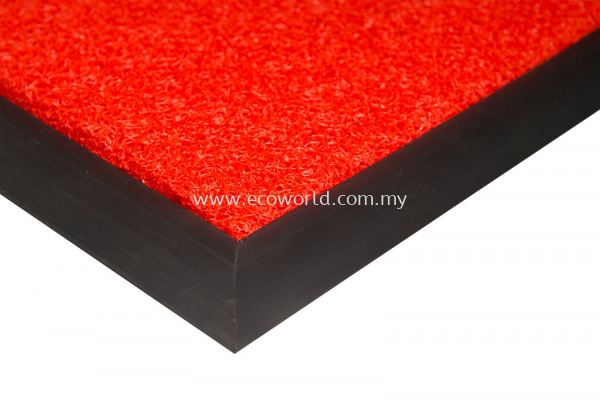 PVC Normal Duty Coil Mat - Red