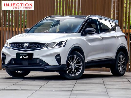 PROTON X50 20Y-ABOVE = INJECTION WITH STAINLESS STEEL LINING DOOR VISOR