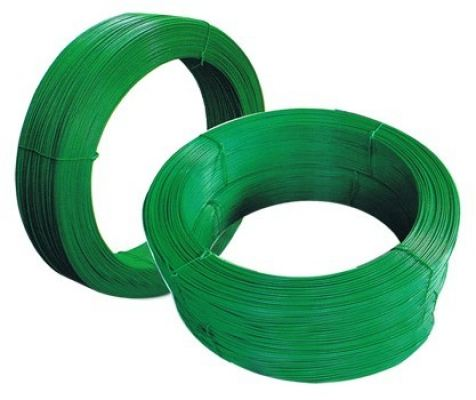 Green PVC Coated Wire ( G16 x 50 KG +- )