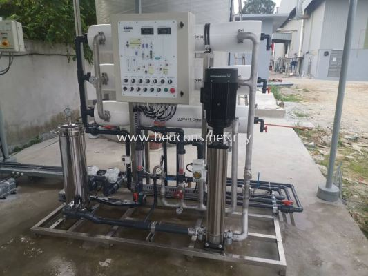 2.5 m3/hr  RO for well water treatment