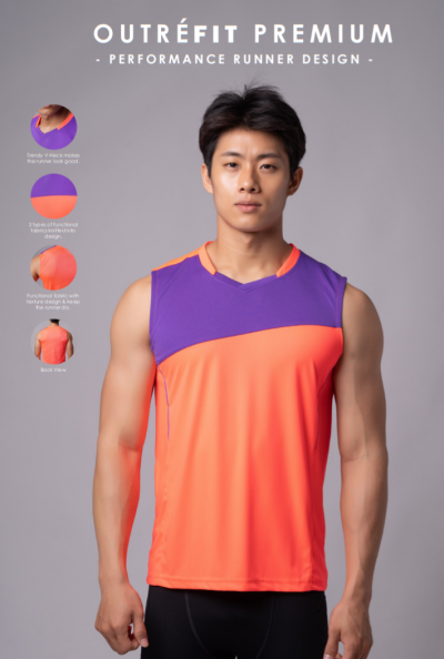 Outr��fit Running Sleeveless - UOS 48