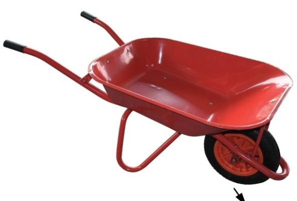 Red Heavy Dudy Wheel Barrow
