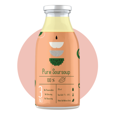 PURE SOURSOUP 250ML