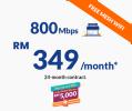 800Mbps Fibre Broadband Business Unifi