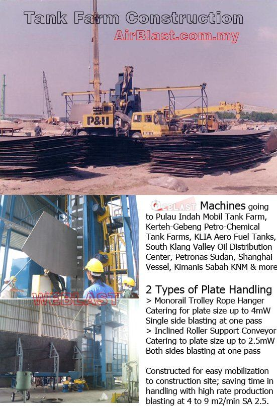 Tank Farm Construction MAIN SERVICES