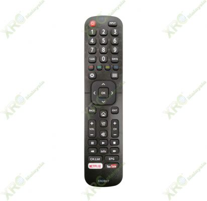 49N2170PW HISENSE SMART 4K UTRAL HD TV REMOTE CONTROL