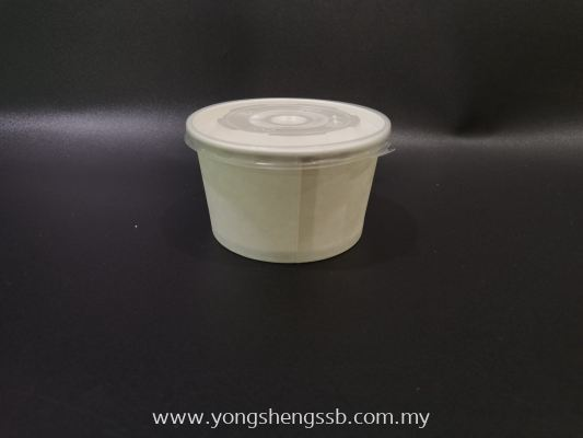 PAPER BOWL PAB-390 WITH LID (1000PCS/CTN)