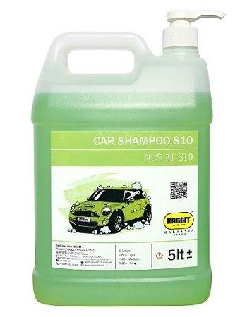 RABBIT CAR SHAMPOO S10 CAR WASH CHEMICAL SERIES RABBIT CAR CARE