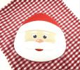 Santa Claus (15 x 5.5cm) Christmas Gift Tin Packaging Materials