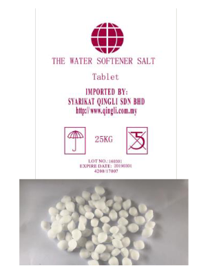 Water Softener Salt-Tablet