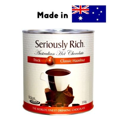 Seriously Rich Fraus Thick Classic Hazelnut Chocolate Cocoa Drinks Powder