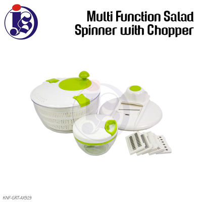 Multi Functional Salad Spinner with Chopper