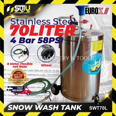 Eurox SWT-70L Stainless Steel Snow Wash Tank