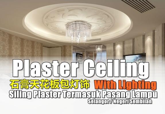 Plaster Ceiling Design Selangor / Negeri Sembilan
