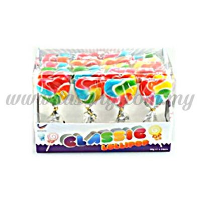 Lollipop Rainbow Heart 1box *24pcs (CD-CP-RH)