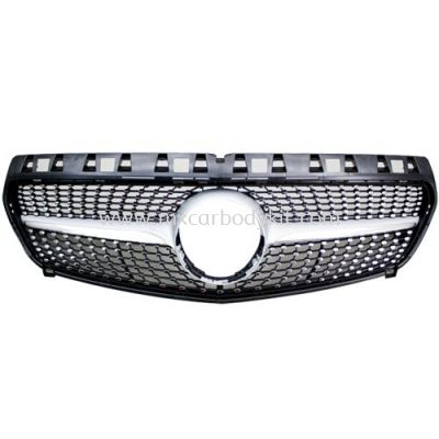 MERCEDES BENZ A CLASS W176 2013 DIAMOND LOOK SPORT GRILLE