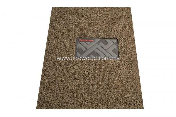 ECOFormat Car Mat - Driver Mat (Brown beige)