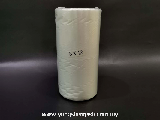 "BAG ON ROLL 8""x12""x0.012mm (1KG/20ROLL/BAG)"