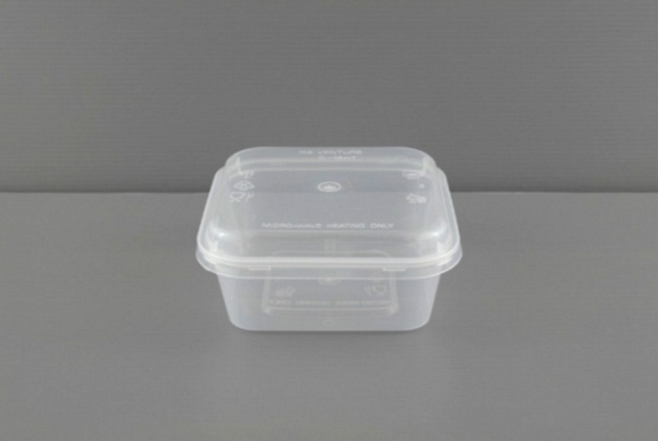 T-SQ650 (650ml) Square Container With Lid