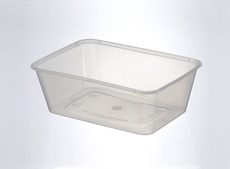 750ml Rect Container With Lid