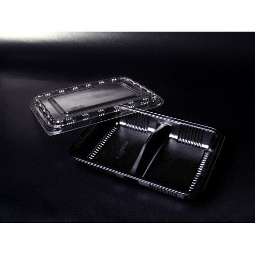 BT-2 (Plastic Disposable Tray & Lid)