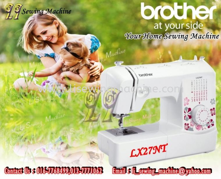 READY STOCK Mesin Jahit Portable Brother LX27NT