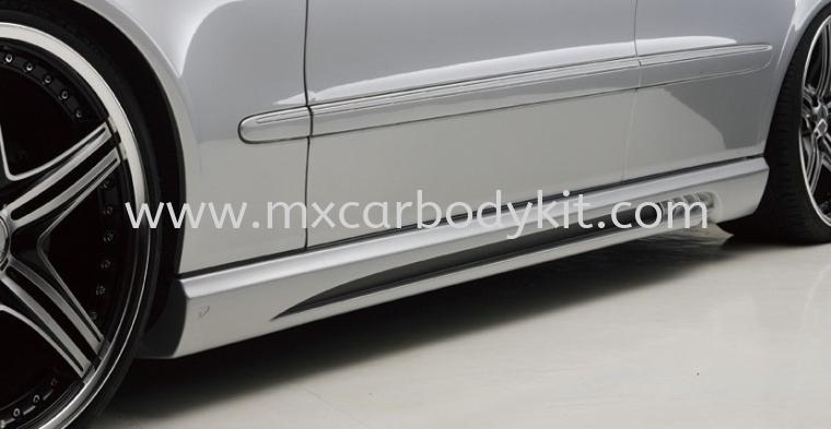 MERCEDES BENZ W211 BLACK BISON STYLE SIDE SKIRT W211 (E CLASS) MERCEDES BENZ