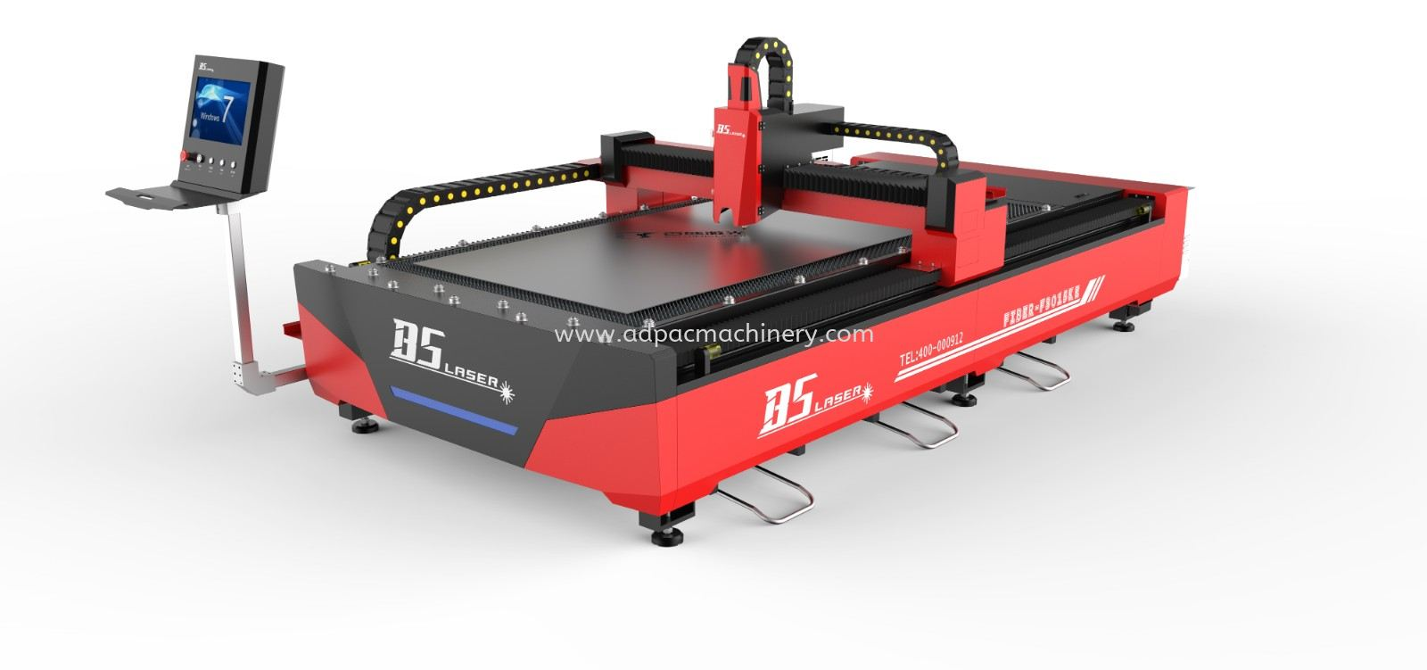 KE Series Open Type Single Table Laser Cutting Machine