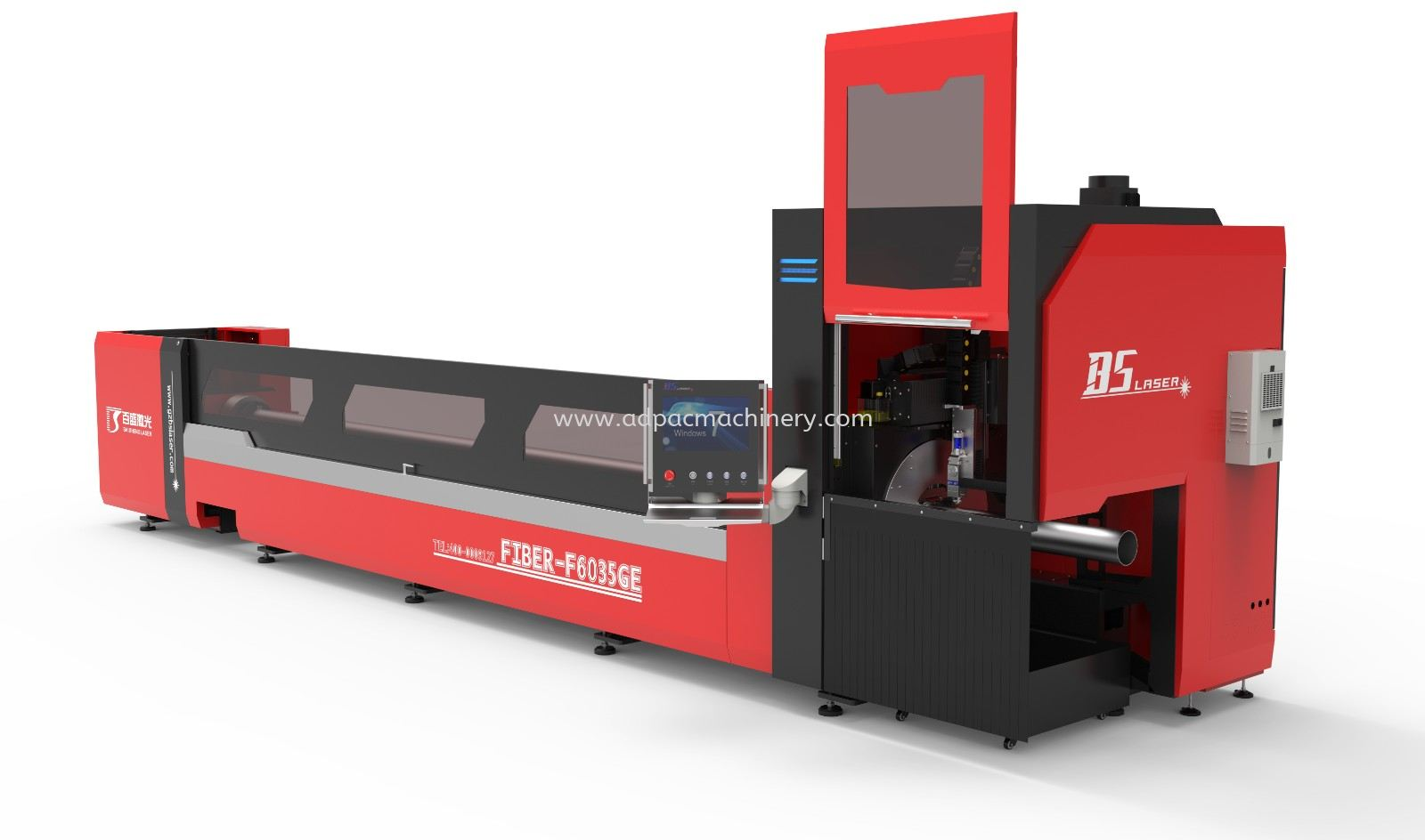 Three Truck Laser Pipe/Tube Cutting Machine