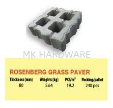 ROSENBERG GRASS PAVER