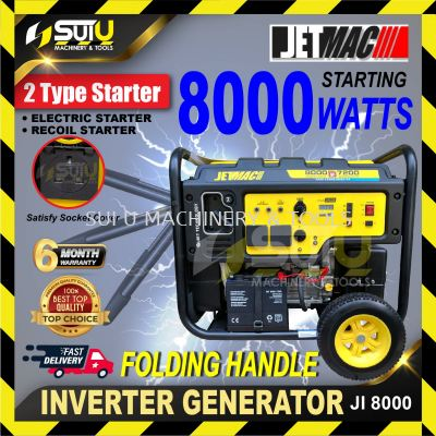 JETMAC JI8000 8000W Inverter Silent Generator