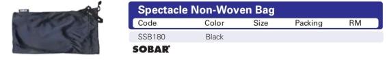 Eyewear - SSB180 Non-Woven Bag Picasaf Eyewear  EYE PROTECTION