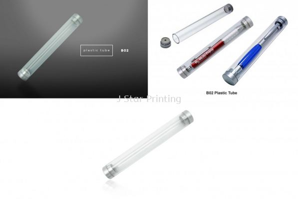 Plastic Pen Tube B02