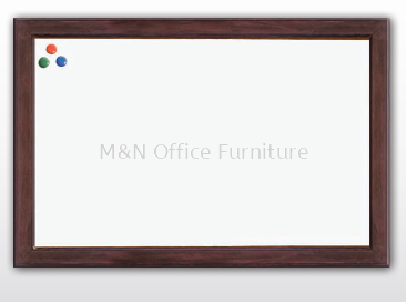 Office Equipment - Writing Board - Wooden Frame Whiteboard