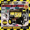 Eurox EHY4202 300Bar Gasoline High Pressure Washer Cleaner 4 Type Pressure-Washer Nozzle 4200 PSI Ma Eurox Engine Operated Water Pump