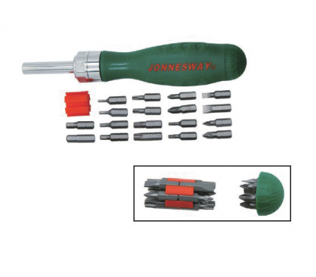 19PCS RATCHET DRIVER BIT SET P/N: DR0119S