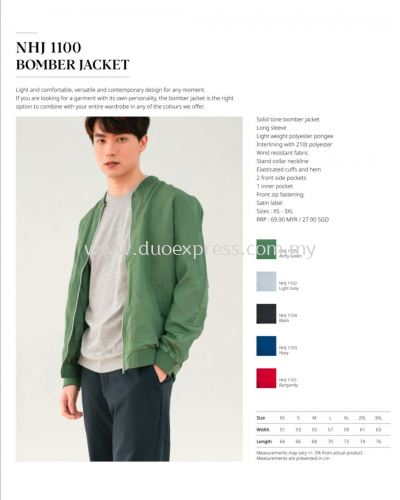 North Harbour Bomber Jacket