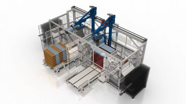 Automatic Snake Wrapping Machine for Lid